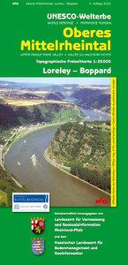 Unesco-Welterbe Oberes Mittelrheintal 2. Loreley - Boppard. 1 :