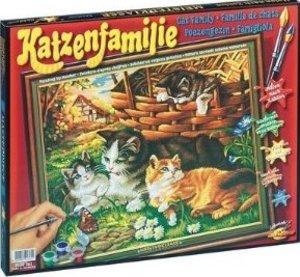 Schipper 609130361 - Katzenfamilie, MNZ, Malen nach Zahlen