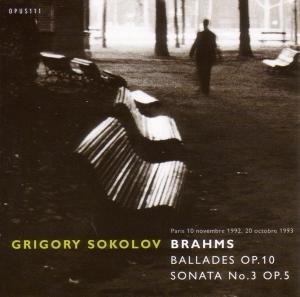 Balladen op.10/Sonate 3 op.5