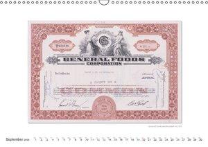 Shares & securities. UK-Version (Wall Calendar 2015 DIN A3 Lands