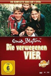 Die Verwegenen Vier-Die Komplette Serie (4 DVD)