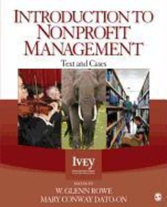 Introduction to Nonprofit Management: Text and Cases