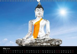 Thailand & Cambodia / UK Version (Wall Calendar 2015 DIN A3 Land