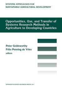 Opportunities, use, and transfer of systems research methods in