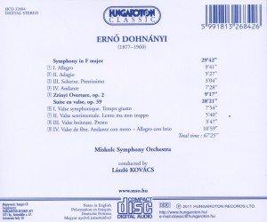 Symphonie in F u.a.Orchesterwerke