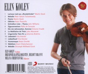 Elin Kolev - Works For Violin