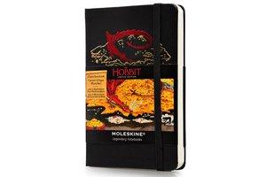 Moleskine Notizbuch Hobbit A6 blanko schwarz