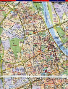 Warschau map & guide