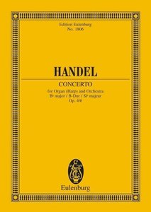 Orgel-Konzert Nr. 6 B-Dur
