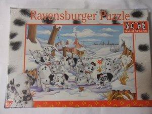 Ravensburger 089666 - Dalmatinerkinder Flucht