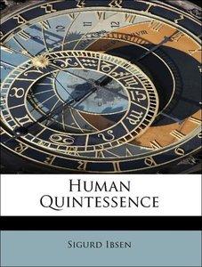 Human Quintessence