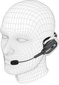 Speedlink ARGOS Backheadset - Bluetooth - für PS3, schwarz