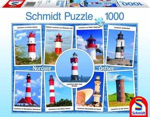 Die schönsten Leuchttürme. Puzzle