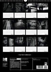 City Noir Collection (Wall Calendar 2016 DIN A3 Portrait)