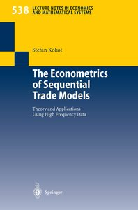 The Econometrics of Sequential Trade Models