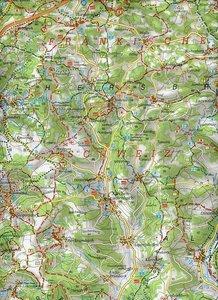 Hersbrucker Schweiz in der Frankenalb 1 : 35 000. Fritsch Wander