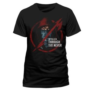 Through The Never Logo (T-Shirt,Schwarz,Größe M)