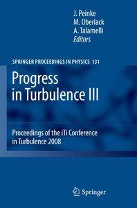 Progress in Turbulence 3