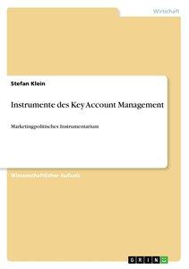 Instrumente des Key Account Management