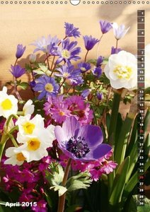 Bright Flower Bouquets (Wall Calendar 2015 DIN A3 Portrait)