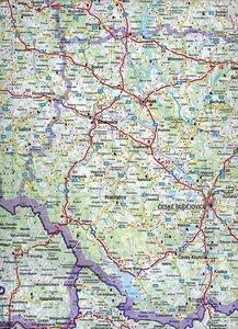 Tschechische Republik 1 : 400 000. Autokarte