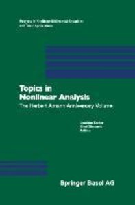Topics in Nonlinear Analysis
