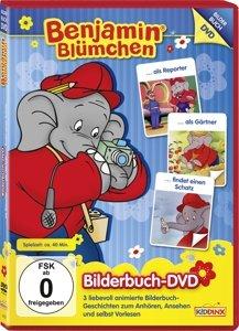 Bilderbuch DVD 7: Reporter/Gärtner/Schatz
