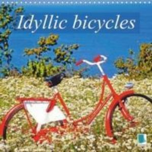 Idyllic bicycles (Wall Calendar 2015 300 × 300 mm Square)