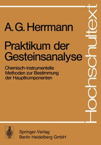 Praktikum der Gesteinsanalyse