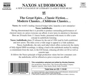 Audio Books Sampler