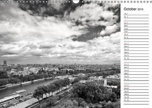 Paris... always worth a trip! (UK - Version) (Wall Calendar 2015