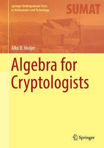 Algebra for Cryptologists