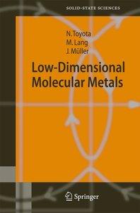 Low-Dimensional Molecular Metals