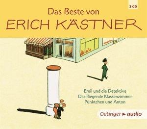 Das Beste von Erich Kästner (3 CD)