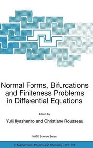 Normal Forms, Bifurcations and Finiteness Problems in Differenti