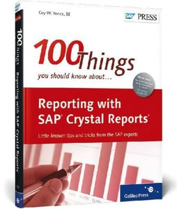 Reporting with SAP Crystal Reports