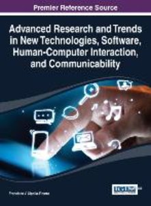 Advanced Research and Trends in New Technologies, Software, Huma
