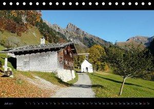 Region Oberstdorf - Kleinwalsertal und Nebelhorn (Tischkalender