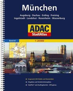 ADAC StadtAtlas Großraum München / Augsburg / Ingolstadt 1 : 20