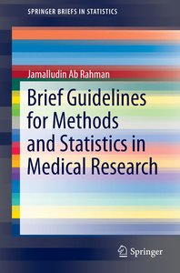 Methods and Statistics in Medical Research