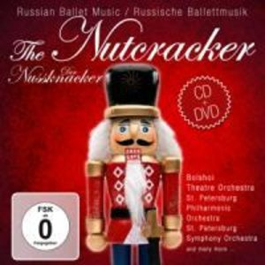 The Nutcracker-Russian Ballet Music.DVD+CD