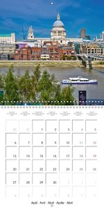 London - Rivers, Lakes and Canals (Wall Calendar 2015 300 × 300