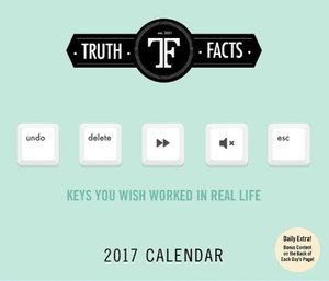 Truth Facts 2017 Day-to-Day Calendar