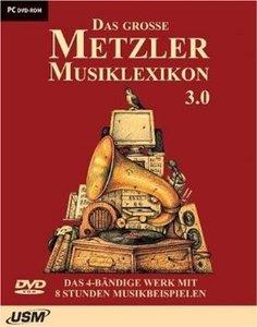 Das grosse Metzler Musiklexikon 3.0. DVD-ROM für Windows