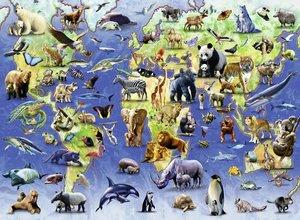 Ravensburger 142644 - Bedrohte Tierarten