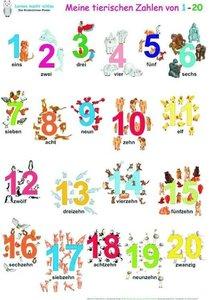 Meine tierischen Zahlen von 1-20