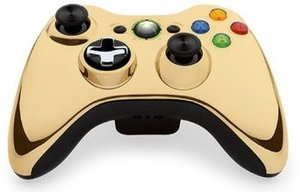 Wireless Controller Chrome Gold für XBOX 360