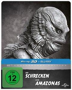 Der Schrecken vom Amazonas. Blu-ray - LIMITED Steelbook Edition