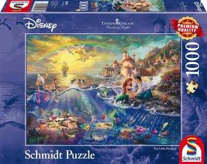 Thomas Kinkade, Disney Kleine Meerjungfrau, Arielle, 1.000 Teile