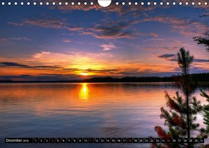 FINNLAND - Traumhafte Landschaften (CH - Version) (Wandkalender